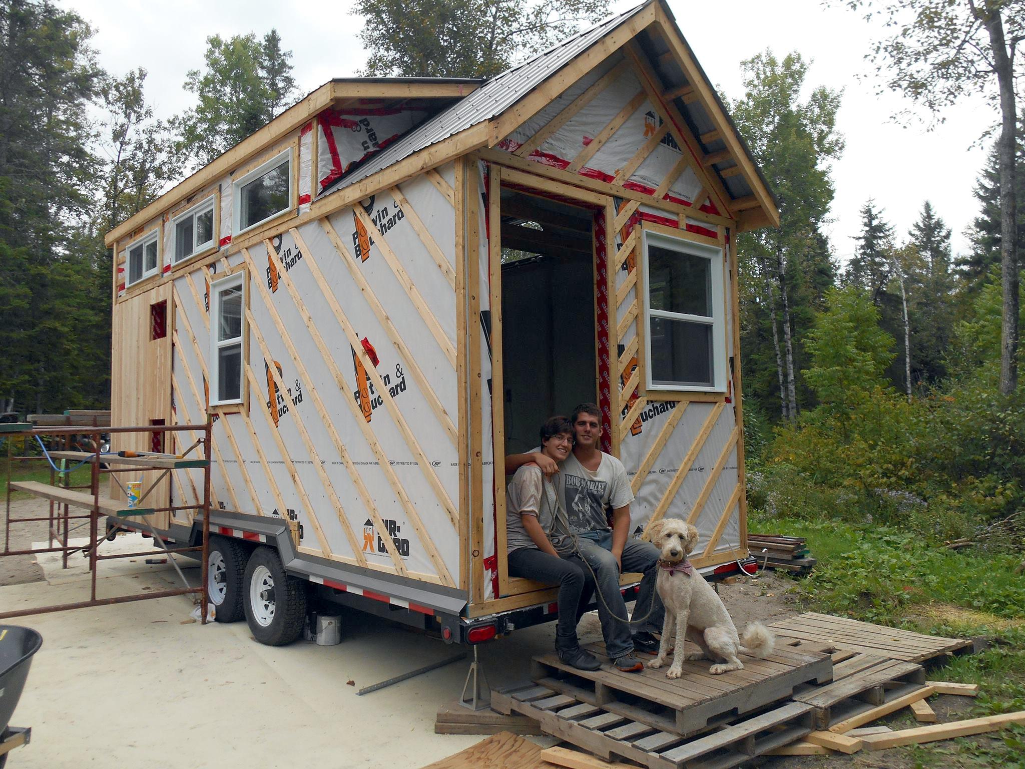 Mini maison maxi libert entr e libre for Maison miniature en bois