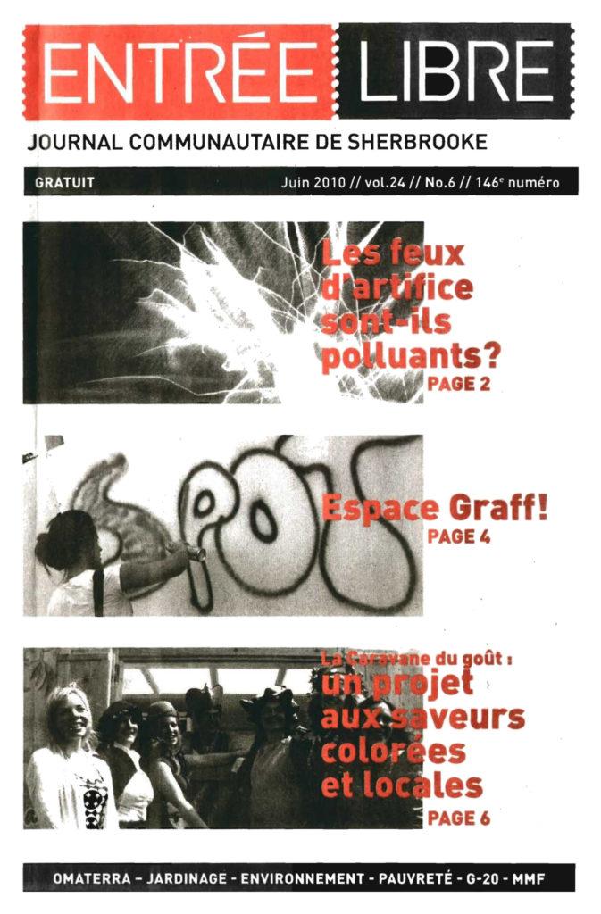 Couverture de la parution #146 Juin 2010