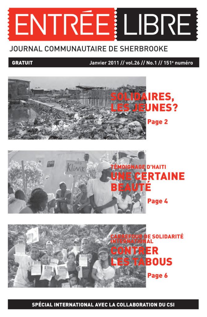 Couverture de la parution #151 Janvier 2011