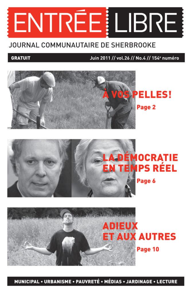 Couverture de la parution #154 Juin 2011
