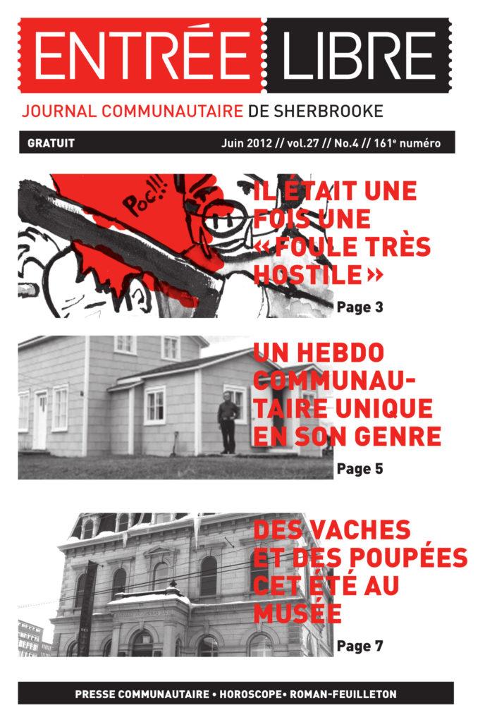 Couverture de la parution #161 Juin 2012