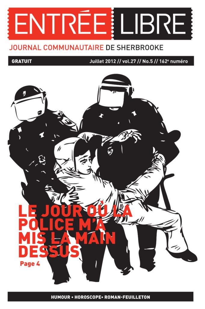 Couverture de la parution #162 Juillet 2012