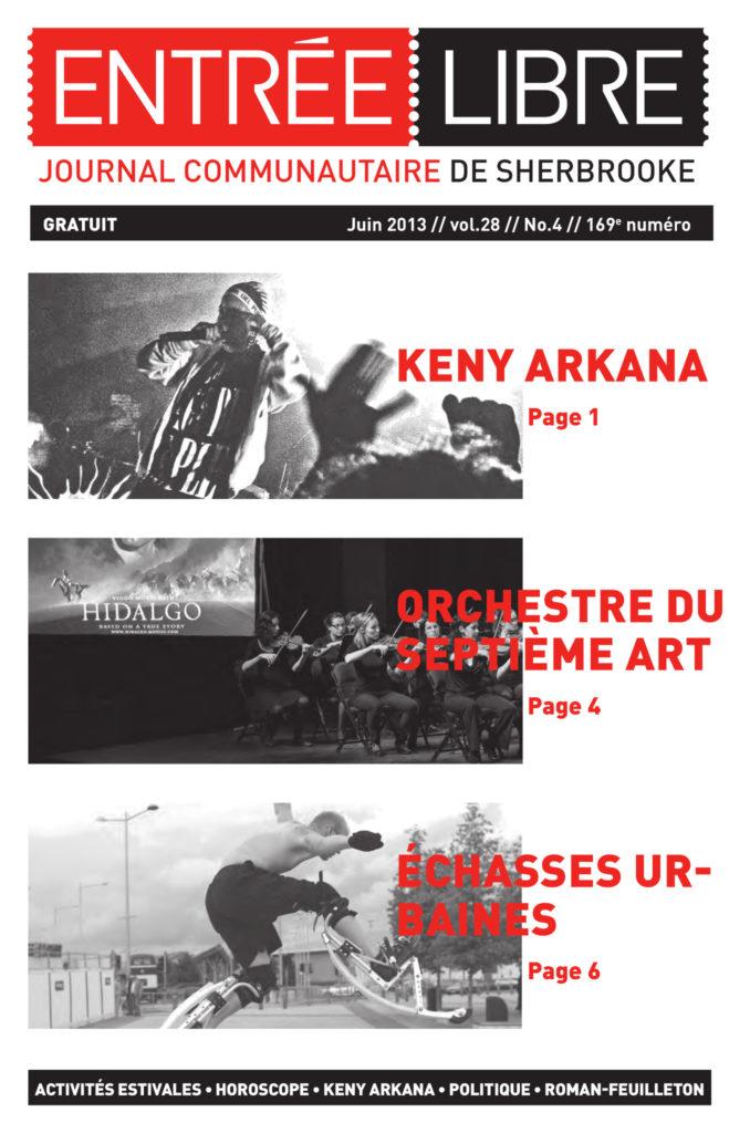 Couverture de la parution #169 Juin 2013