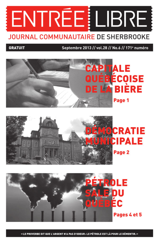 Couverture de la parution #171 Septembre 2013