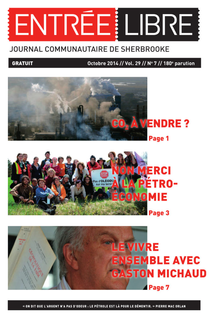 Couverture de la parution #180 Octobre 2014