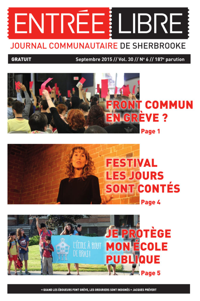 Couverture de la parution #187 Septembre 2015
