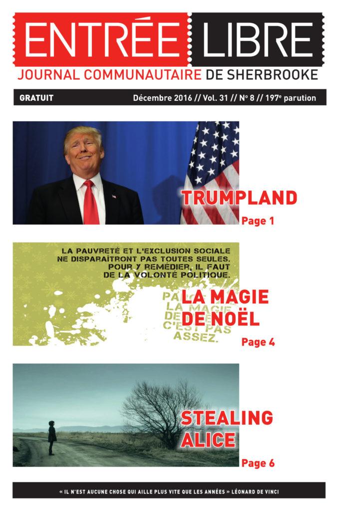 Couverture de la parution #197 décembre 2016