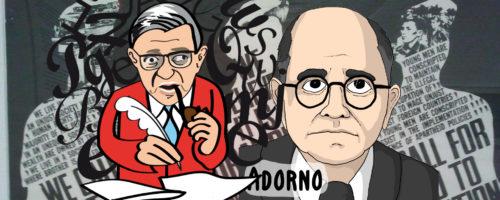 Sartre Adorno