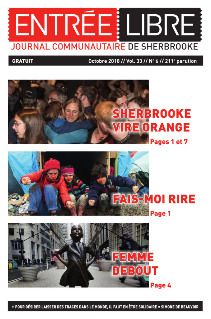 Couverture de la parution #211 octobre 2018