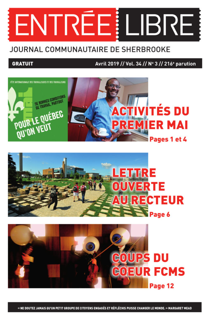 Couverture de la parution #216 avril 2019