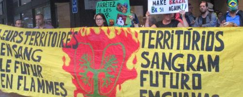 Amazonie manifestation Montréal