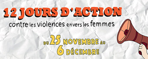 12 jours d'action violence femmes