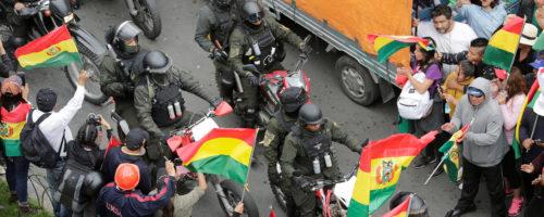 Bolivie coup d'état