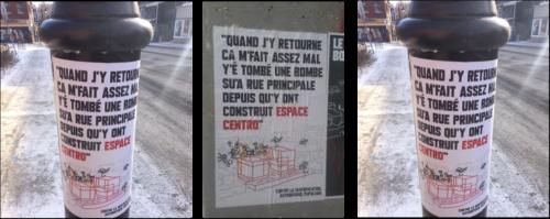 Gentrification Affiche