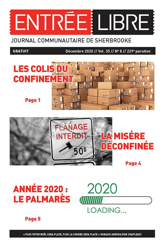 Couverture de la parution #229 Décembre 2020
